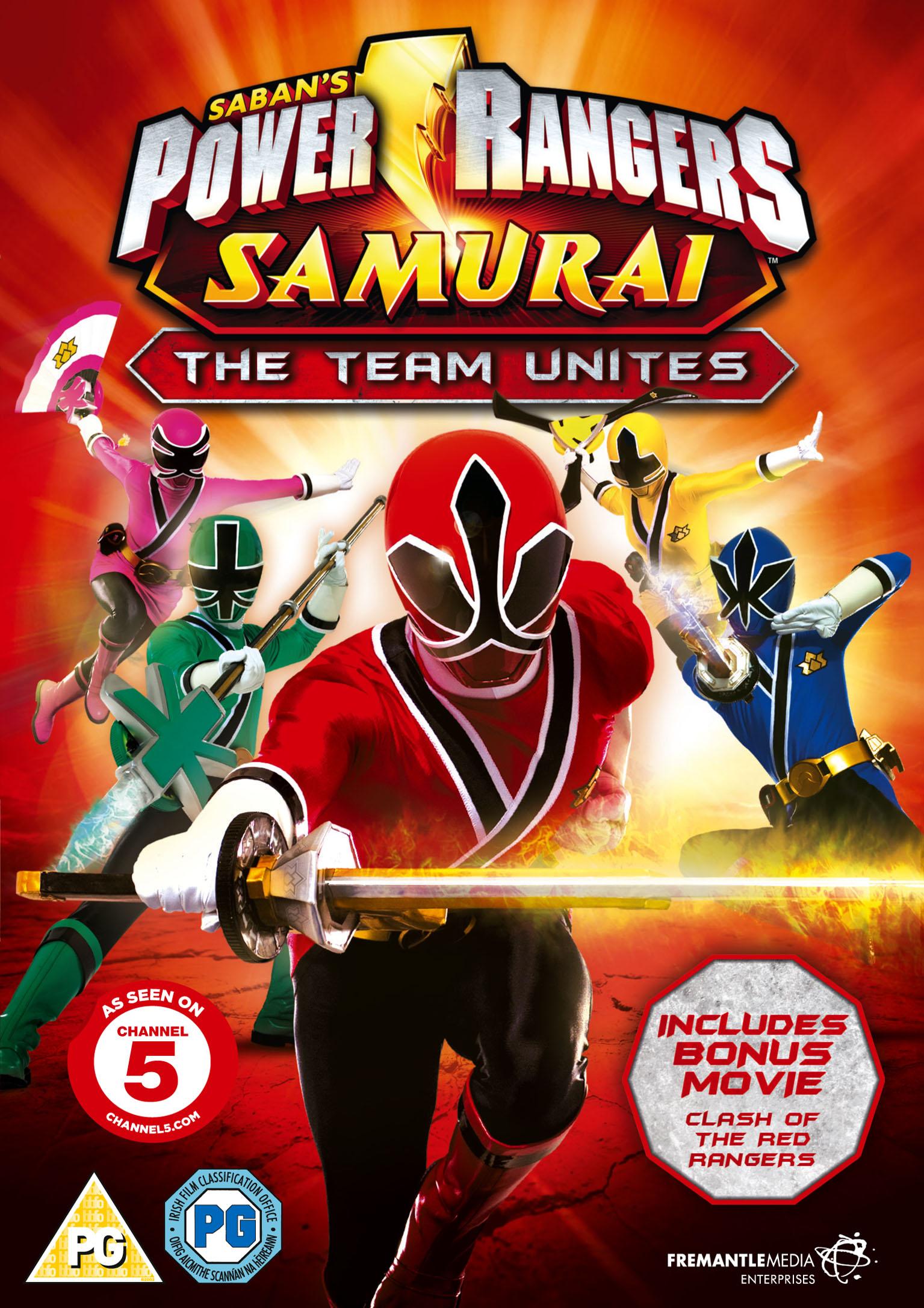 Power rangers samurai the team unites fetch publicity - Power ranger samurai rose ...