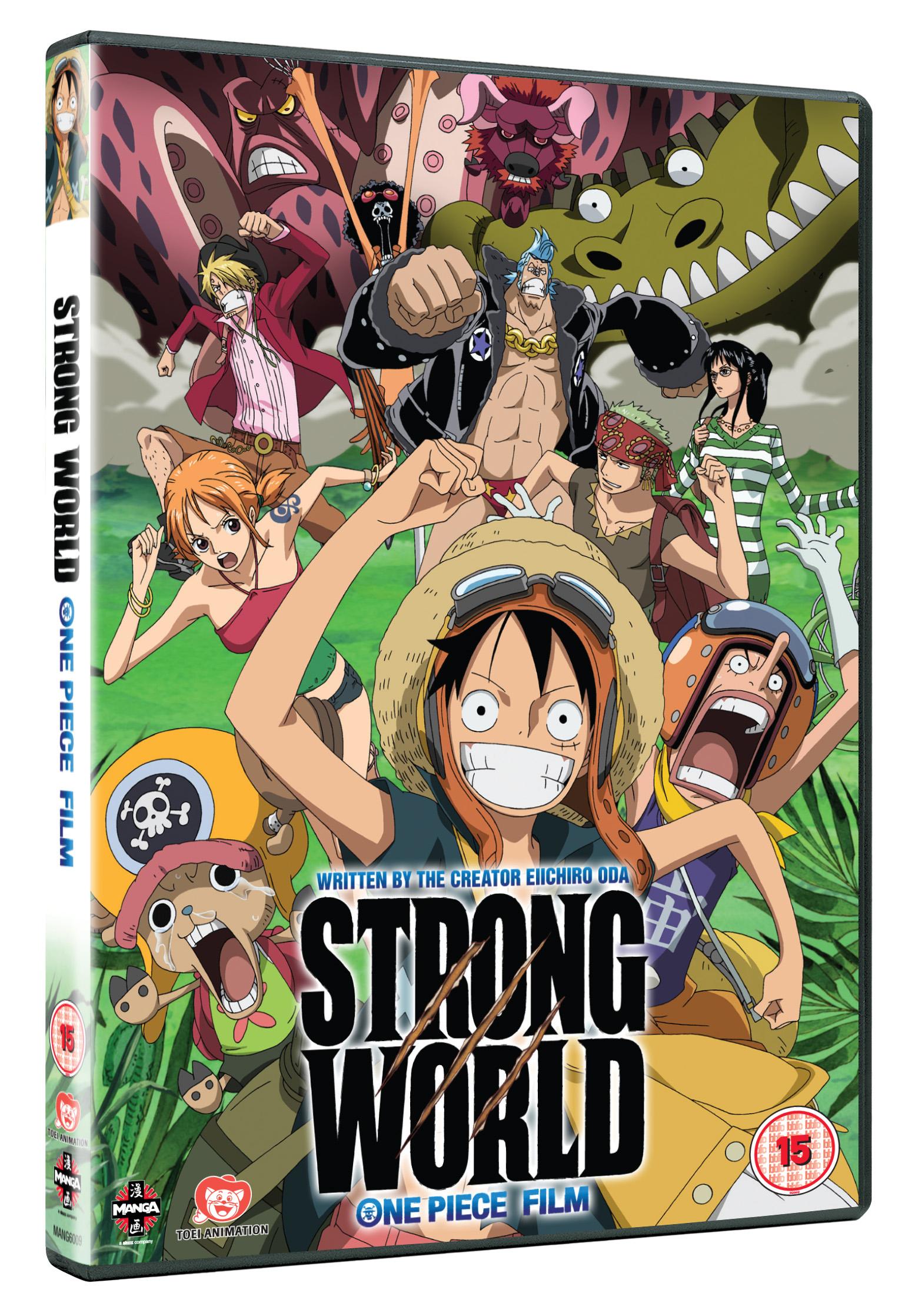 One piece movie dvd