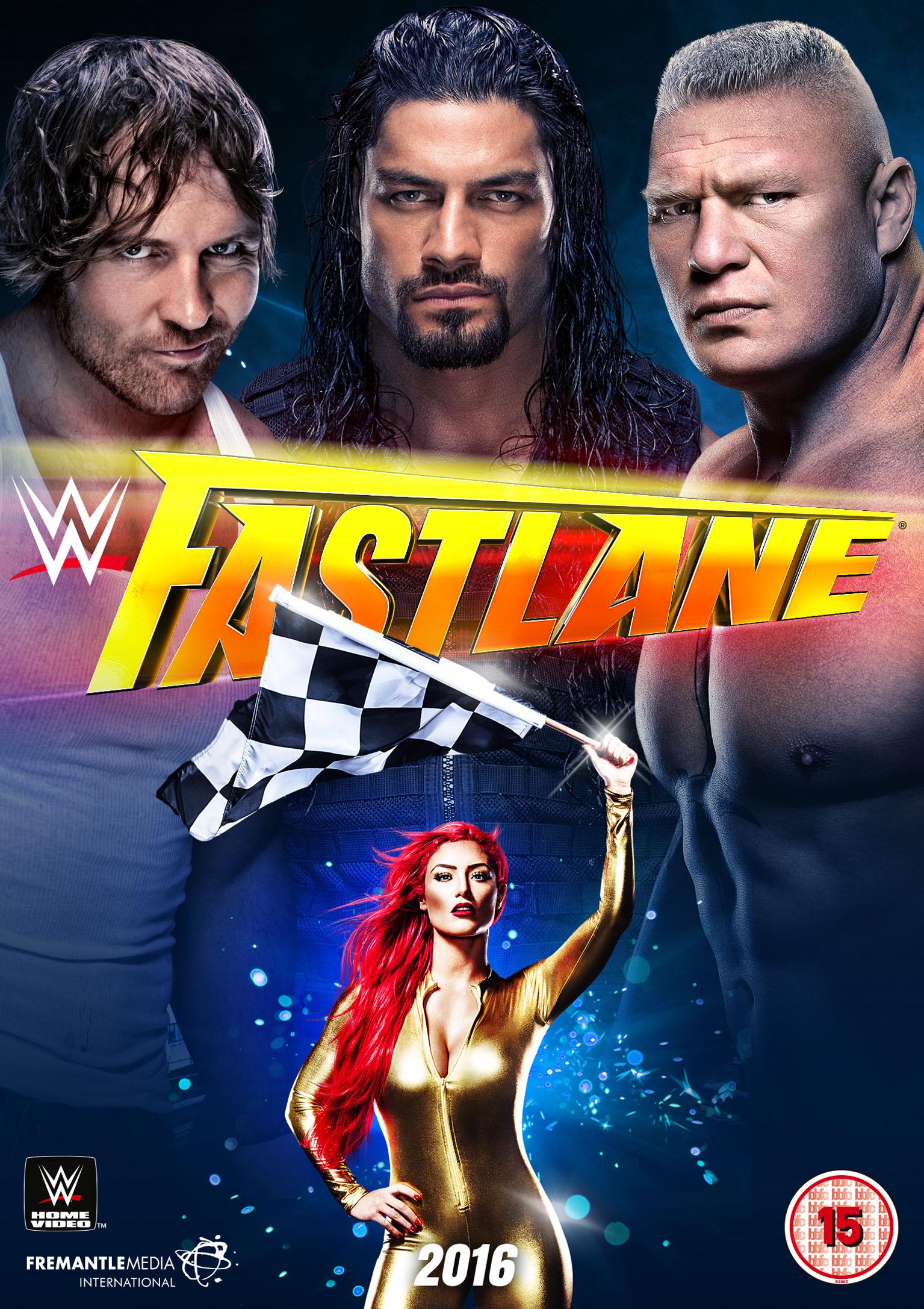 WWE: FASTLANE 2016 - Fetch Publicity
