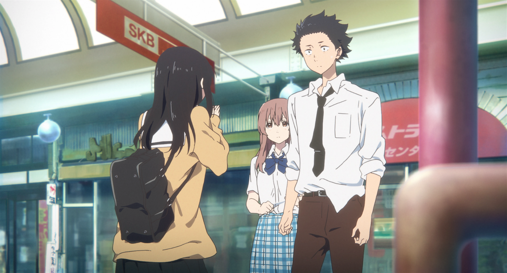 A silent voice fetch publicity for Apartment japanese movie