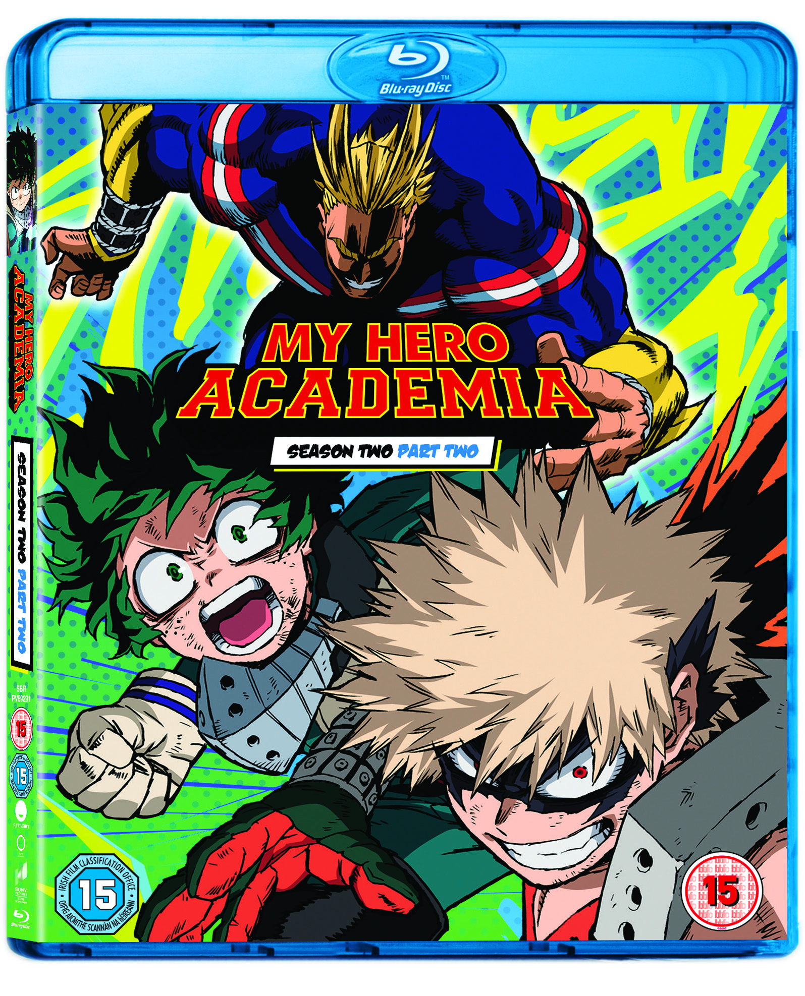 My Hero Academia Two Heroes: My Hero Academia Season Two, Part Two
