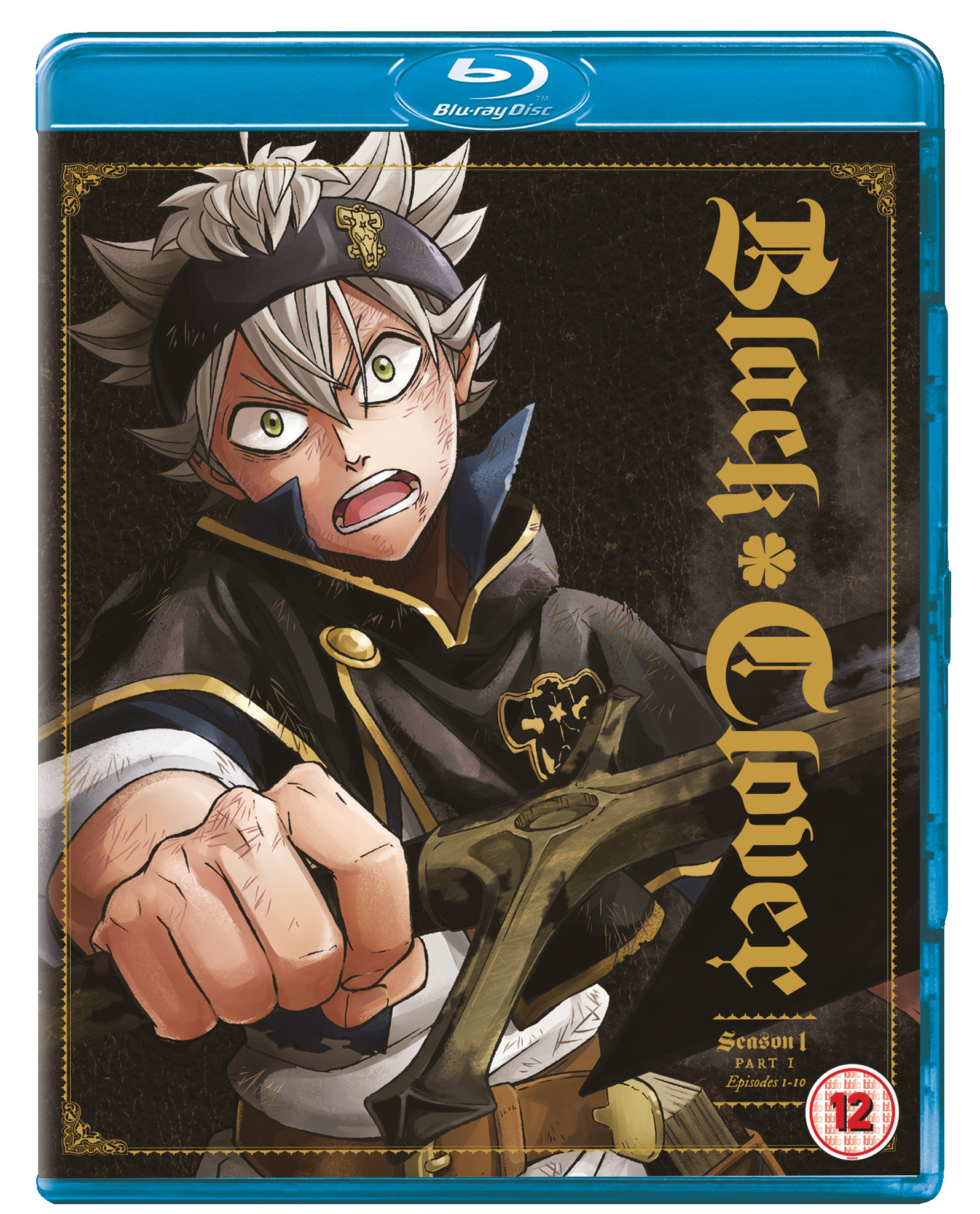 Image result for Black Clover Season 1 Part 1 DVD and Blu ray Combo Pack