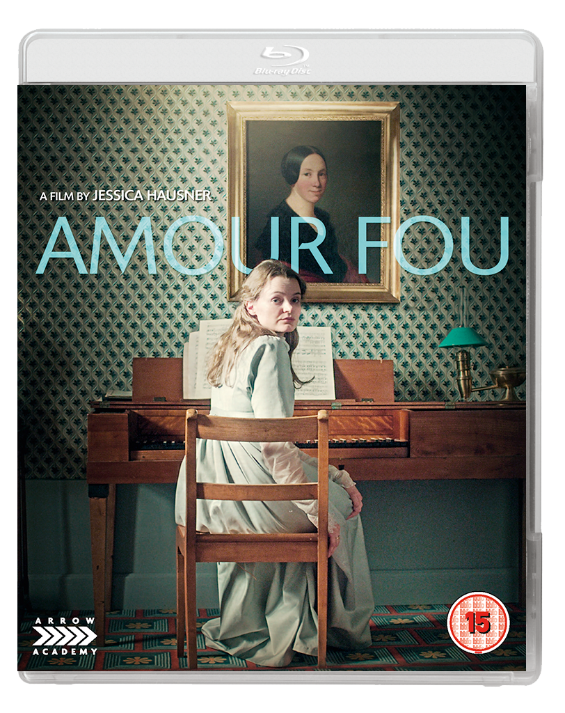 AMOUR FOU 2D BD Arrow Academy have some treats for December