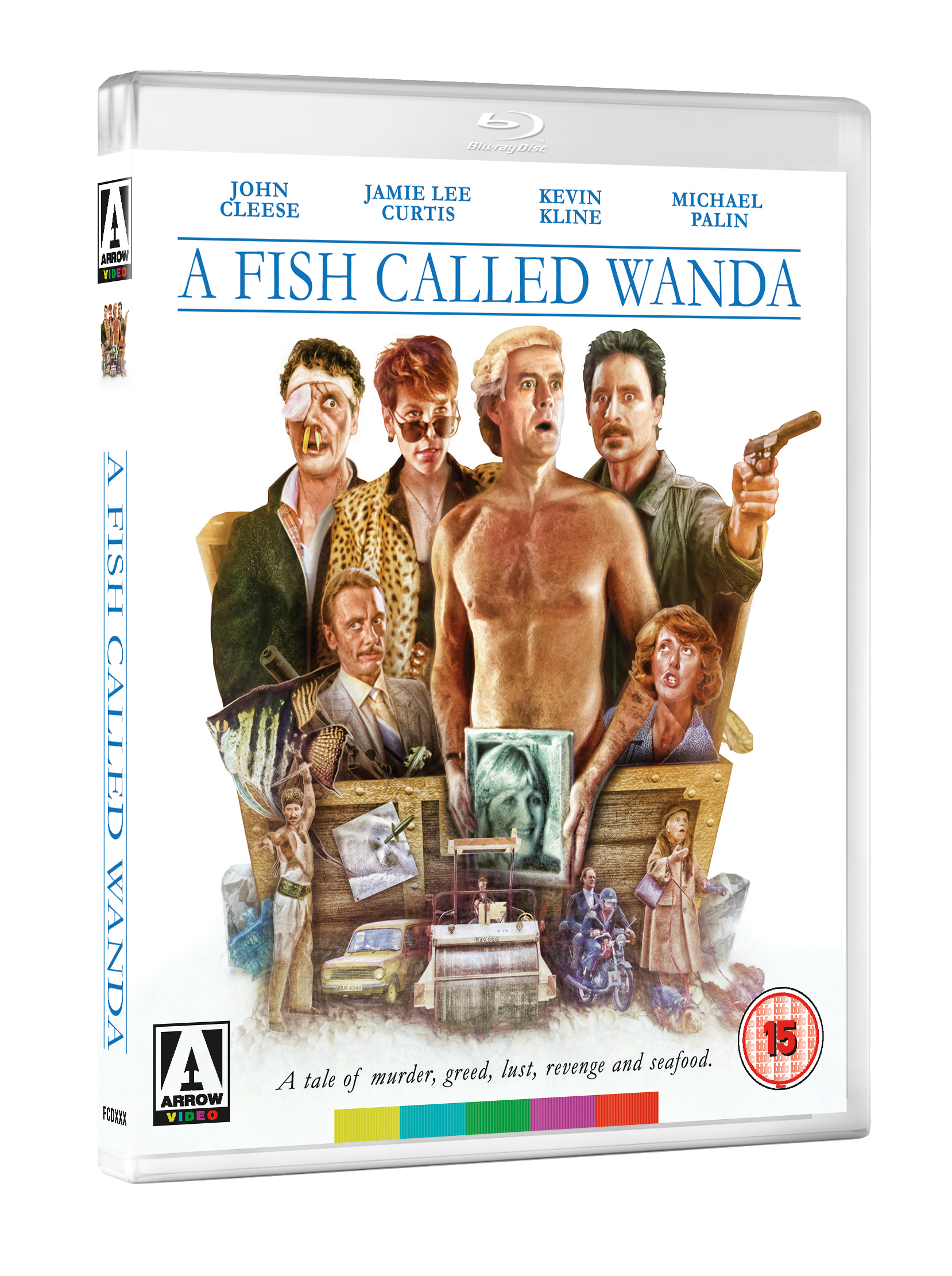 A FISH CALLED WANDA 3D BD September 2017 line up announced by Arrow Video