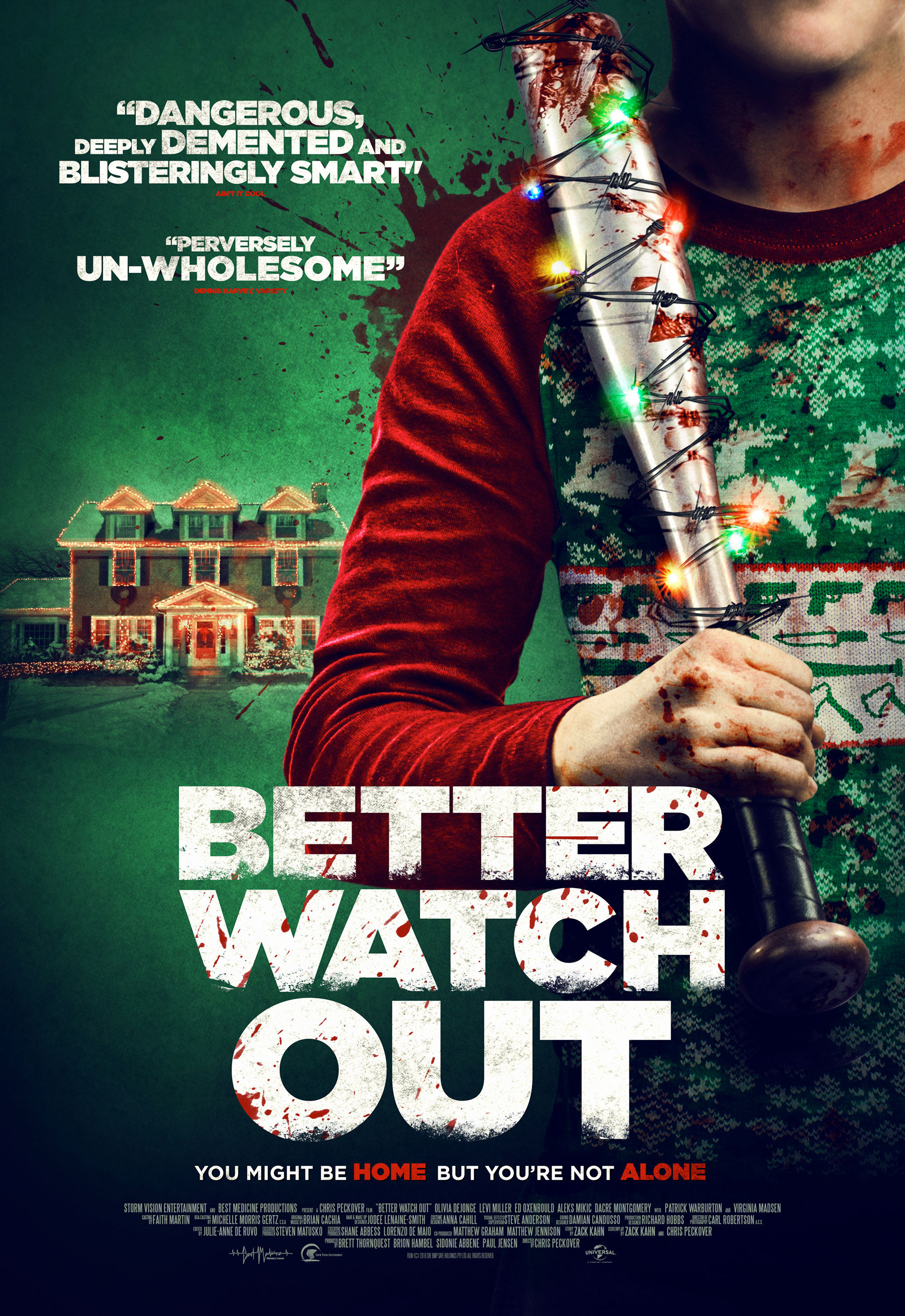 New Poster – Better Watch Out | Movie Reviews 101