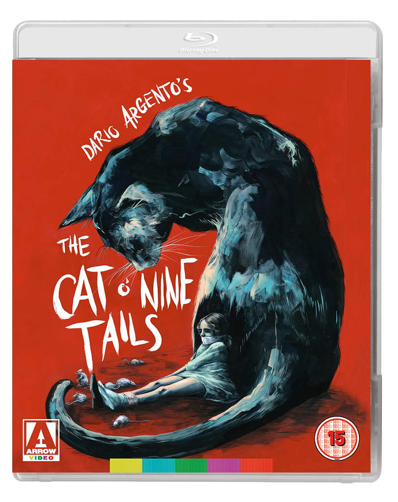CAT O NINE TAILS UK 2D BD Arrow Video announce January 2018 slate