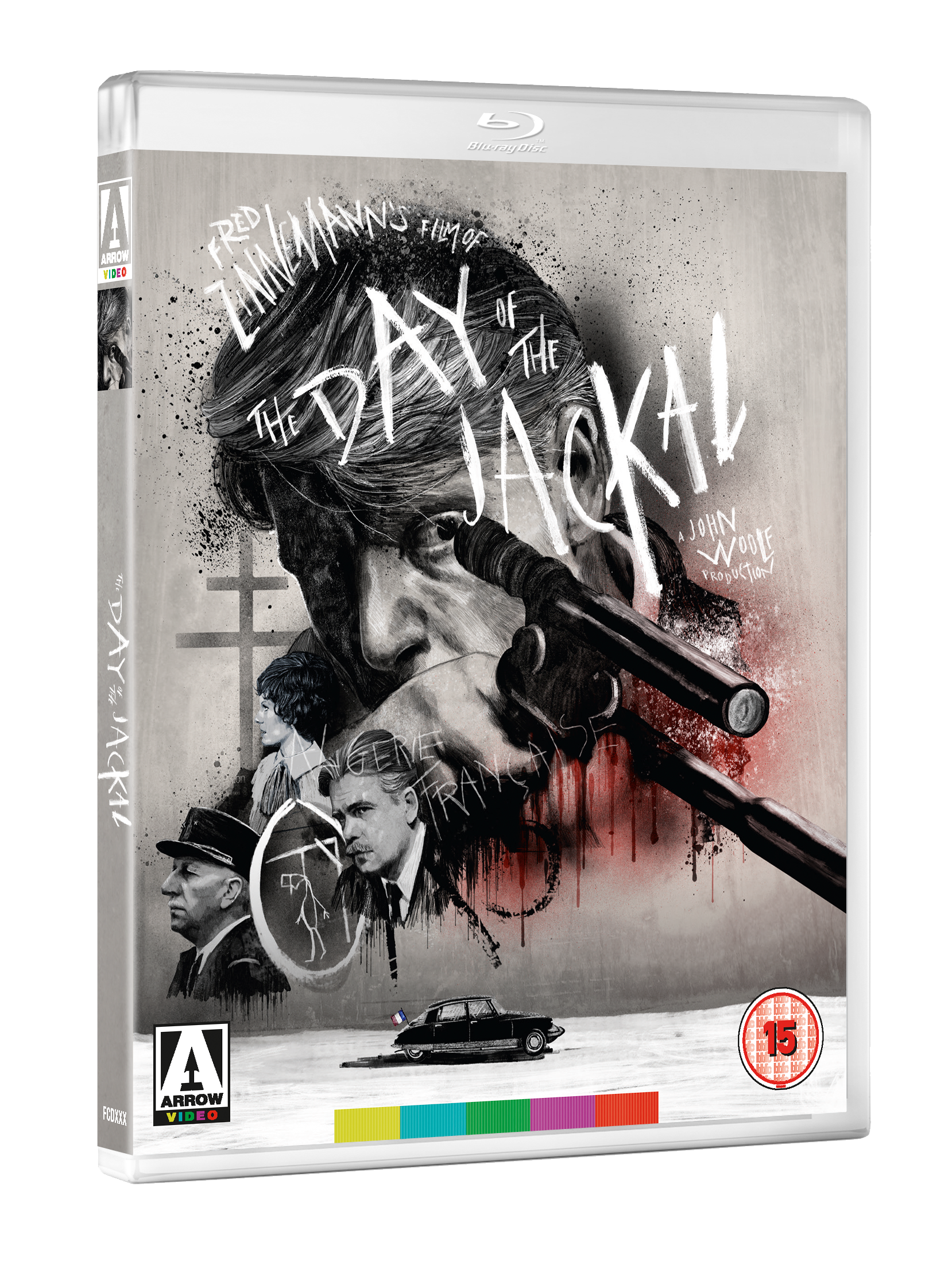 DAY OF THE JACKAL 3D BD September 2017 line up announced by Arrow Video