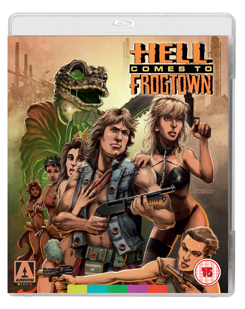 FROGTOWN 2D BD Arrow Video announce December releases