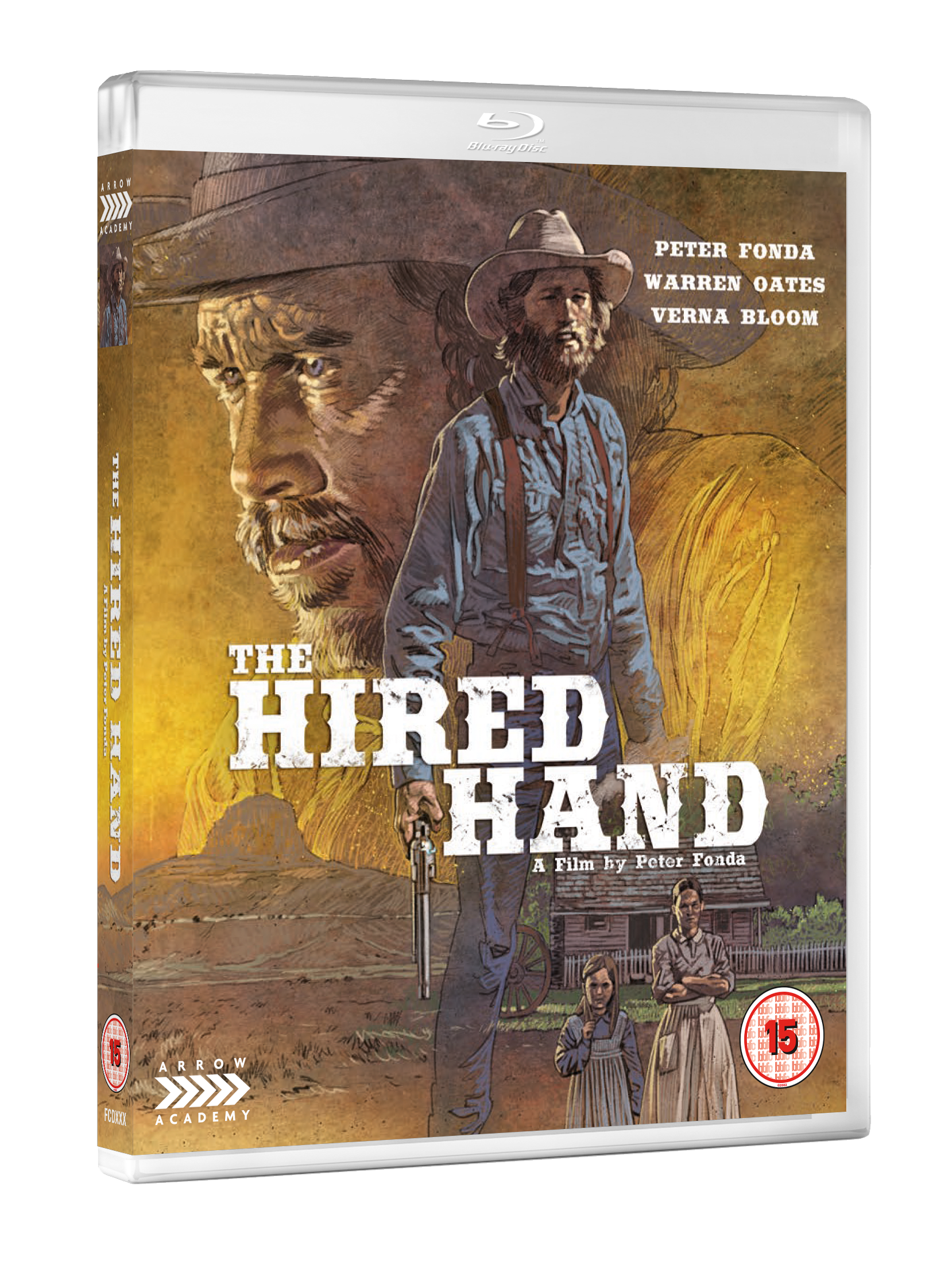 HIRED HAND 3D BD Arrow Academy November releases announced
