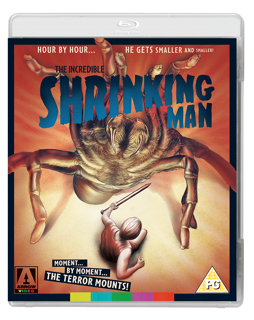 INCREDIBLE SHRINKING MAN 2D BD V3 Arrow Video November 2017 releases announced