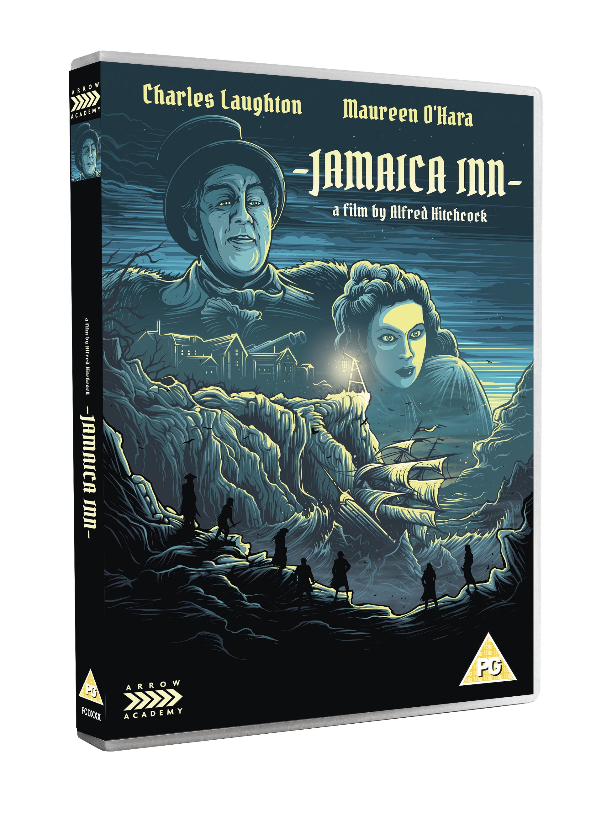 JAMAICA INN 3D DVD Arrow Academy November releases announced