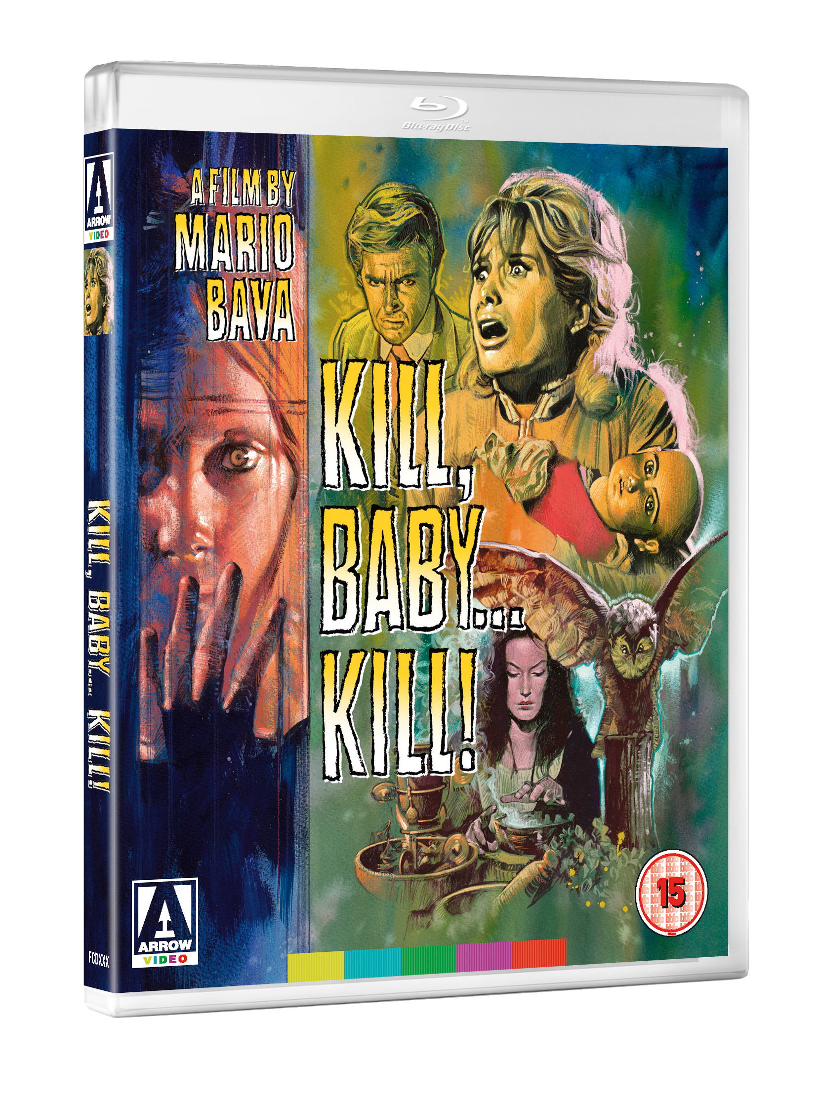KILL BABY KILL 3D BD September 2017 line up announced by Arrow Video