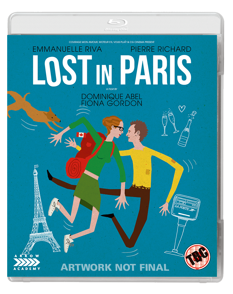 LOST IN PARIS 2D BD Arrow Academy have some treats for December