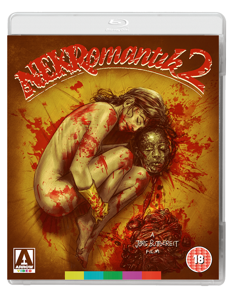 NEKROMANTIC 2 2D BD Arrow Video announce July 2017 releases