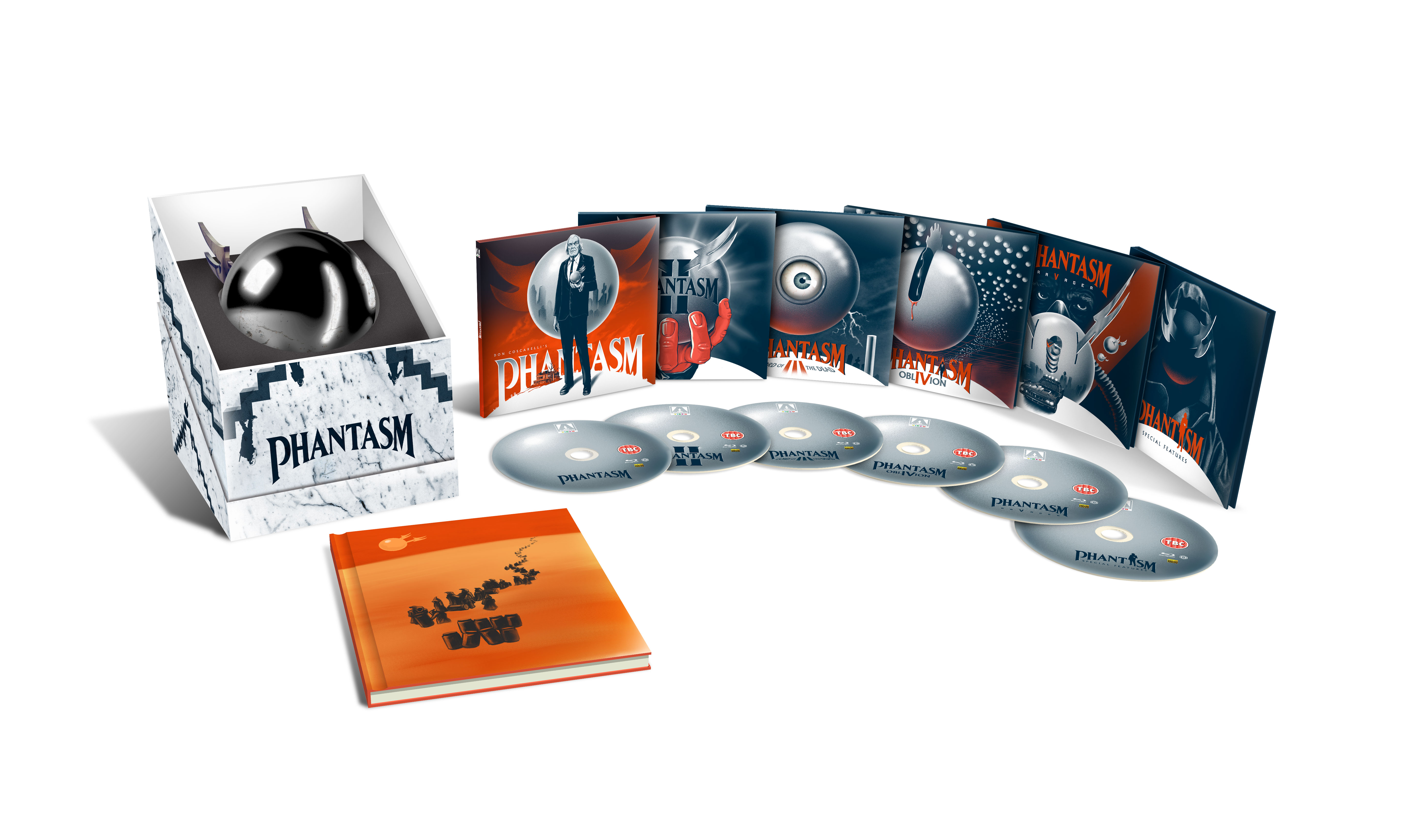 PHANTASM GIFT BOX VIS V1 Arrow Video announce April 2017 releases