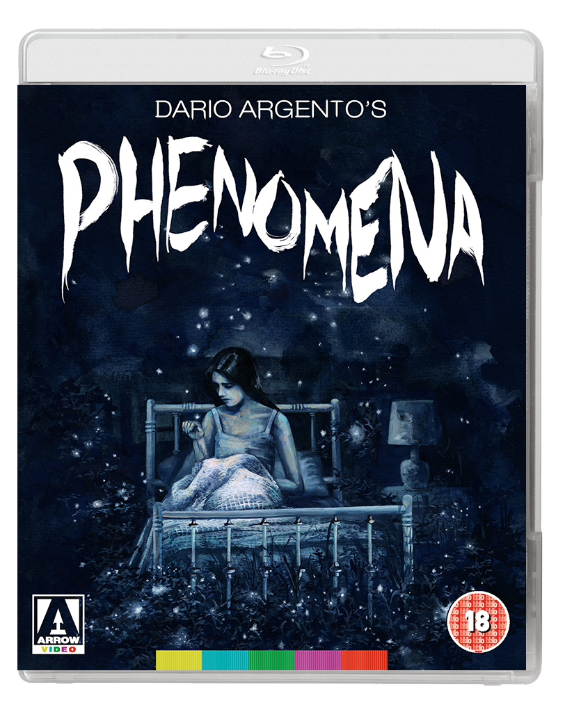 PHENOMENA 2D BD Arrow Video announce January 2018 slate