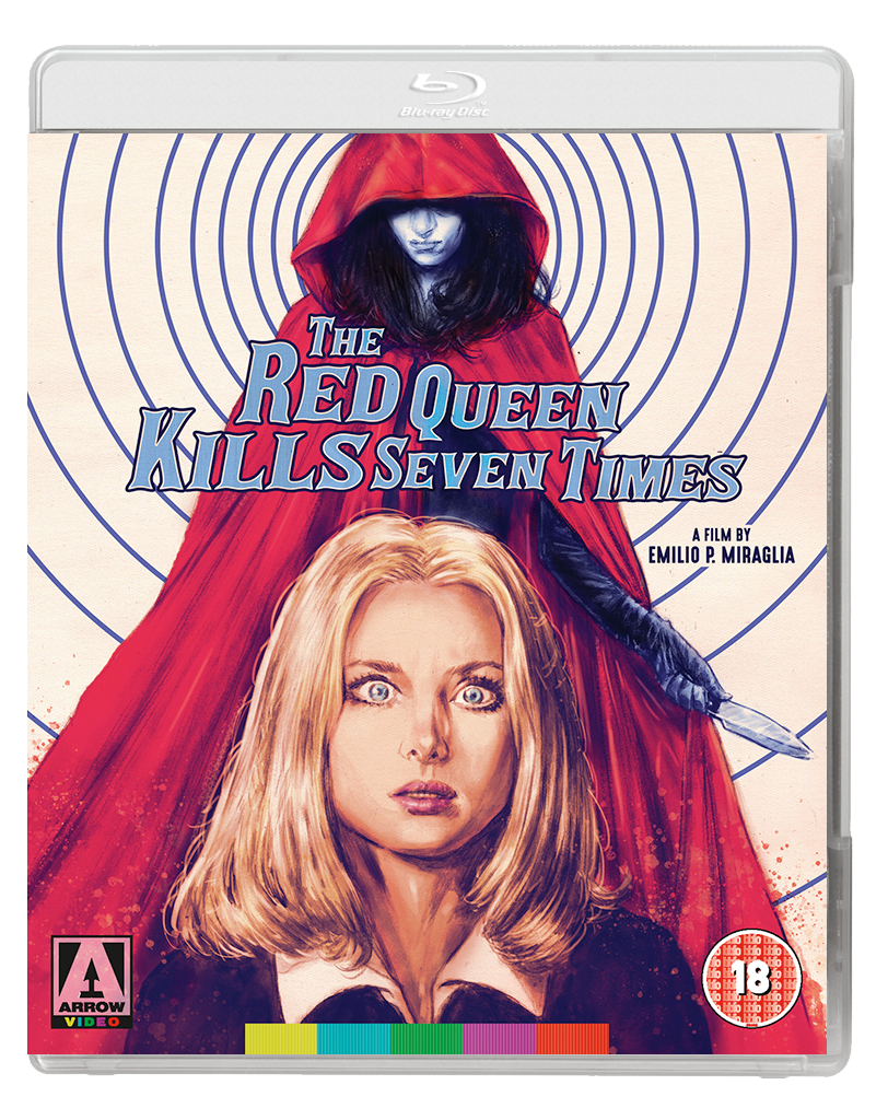 RED QUEEN 2D BD UK Arrow Video announce April 2017 releases