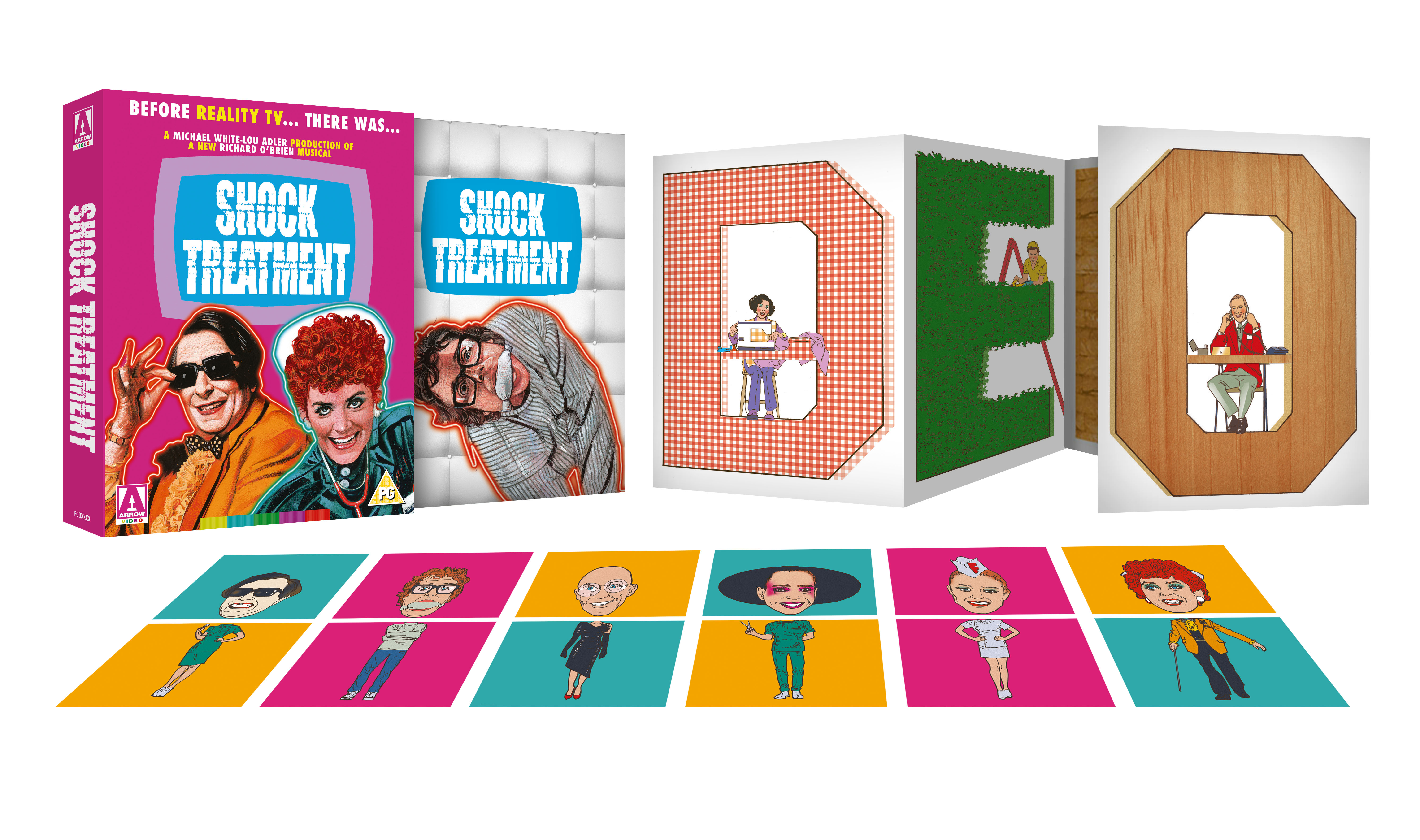 SHOCK TREATMENT NATION EDITION EXPLODED PACK. Arrow announce August 17 releases