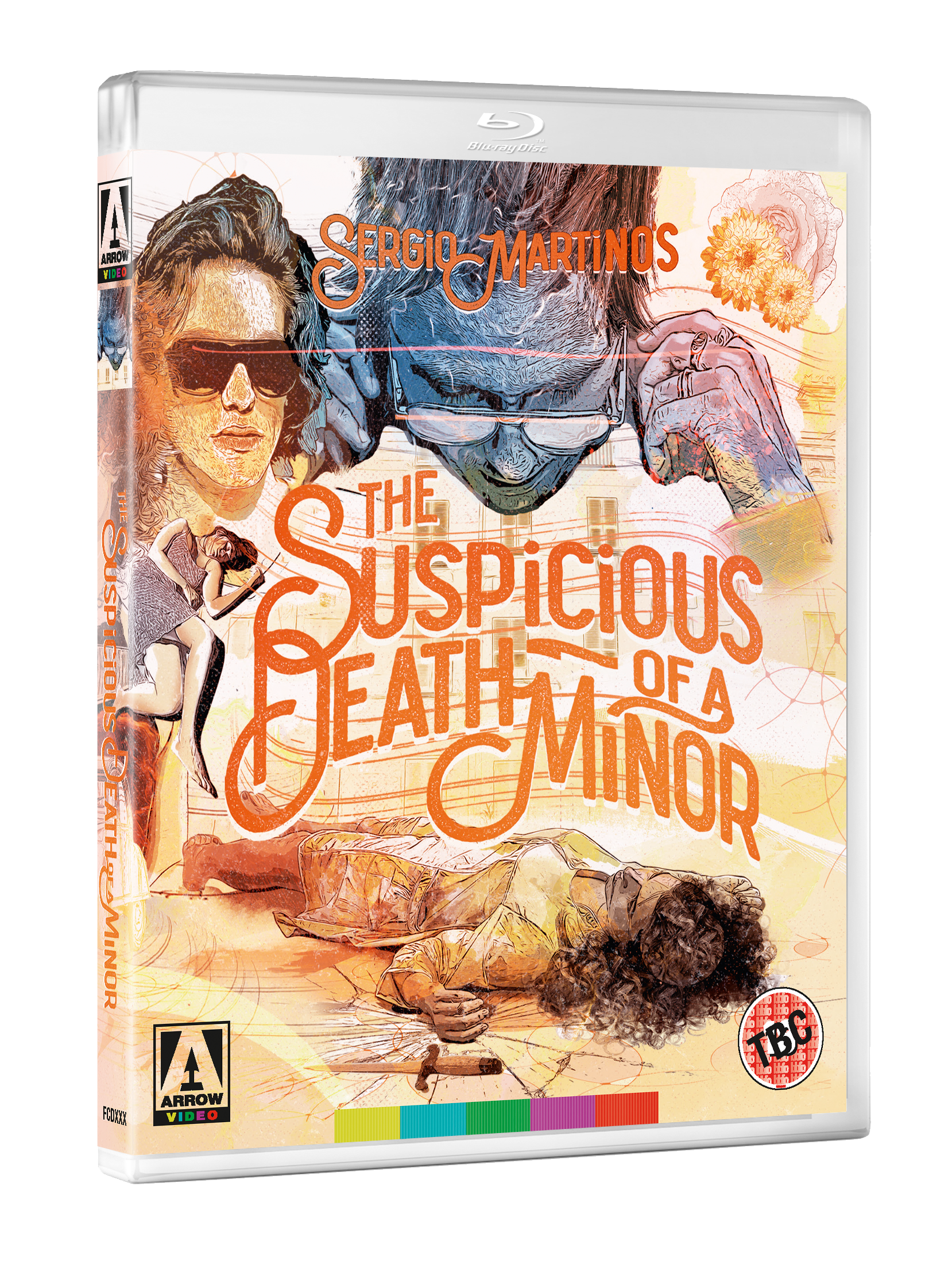 SUSPICIOUS DEATH 3D BD September 2017 line up announced by Arrow Video