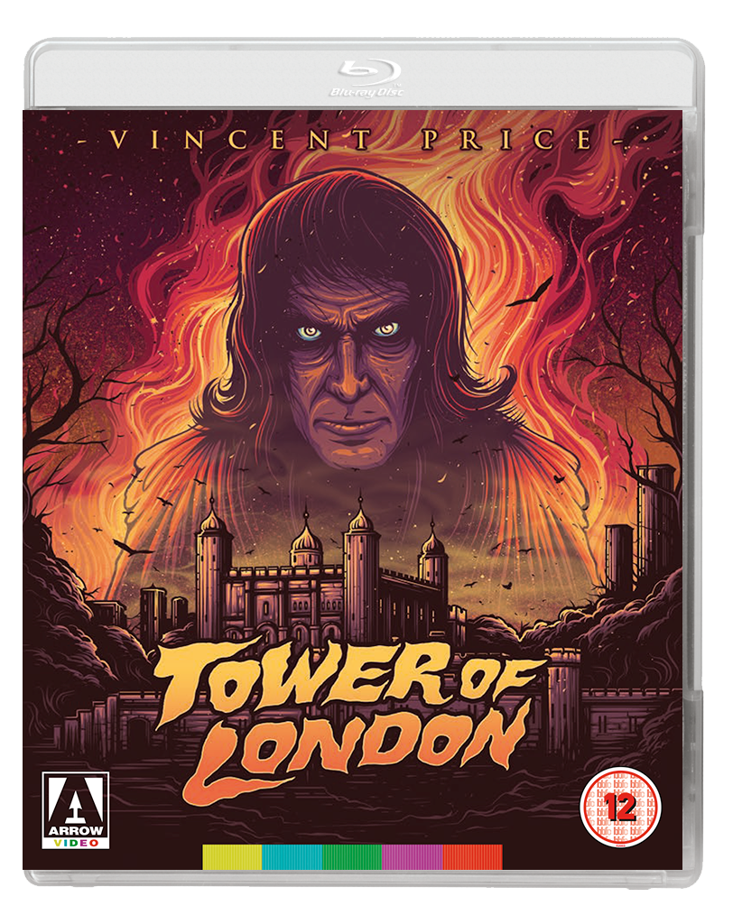 TOWER OF LONDON 2D BD Arrow Video announce February 2017 releases