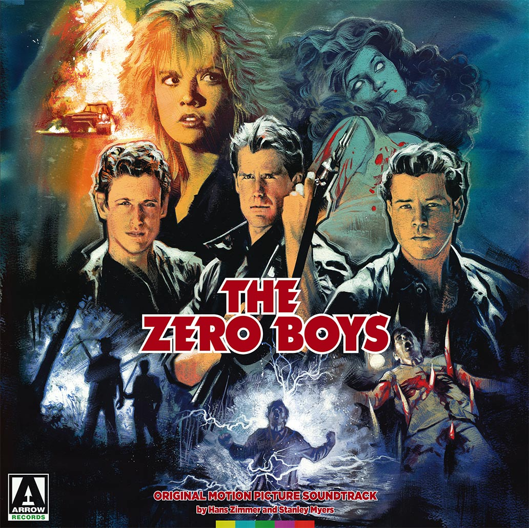 Zero Boys Sleeve 2D Arrow Video announce January 2018 slate