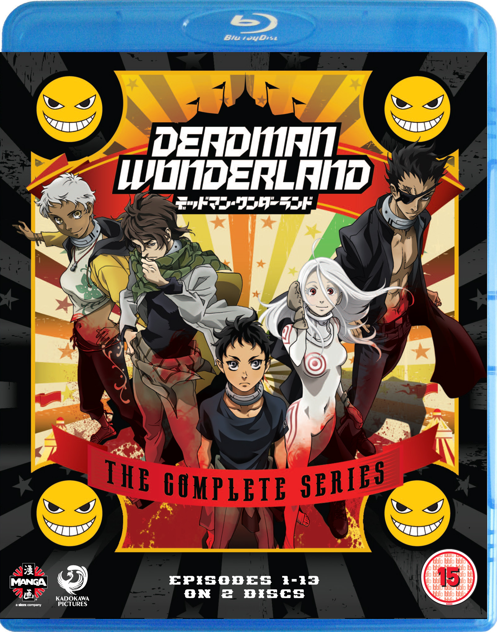 Deadman wonderland season 2 release date in Australia