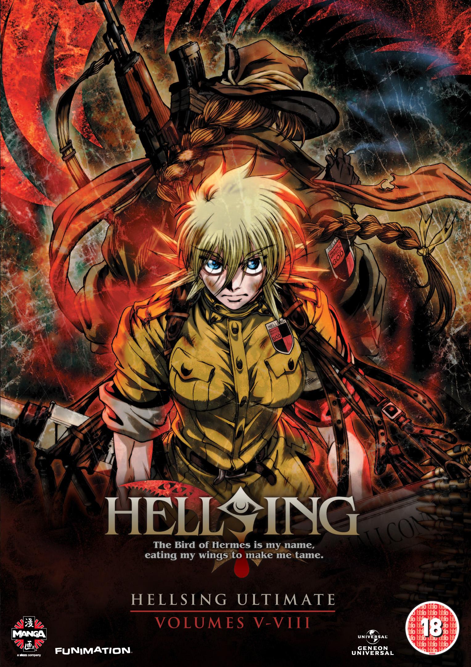 hellsing ultimate animation studio