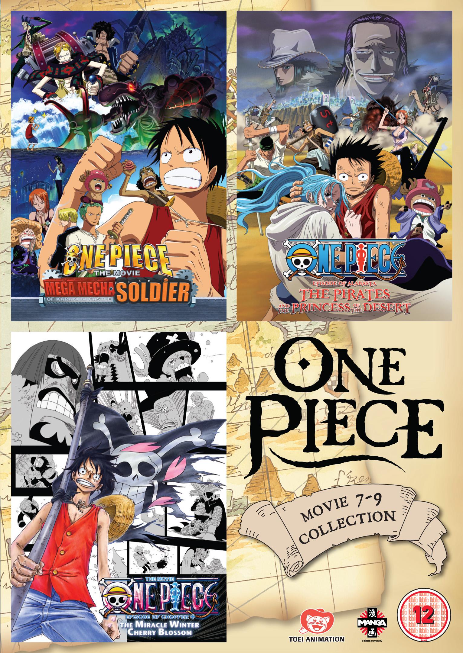 One Piece Movie Collection 3 (Films 5-8) - Fetch Publicity