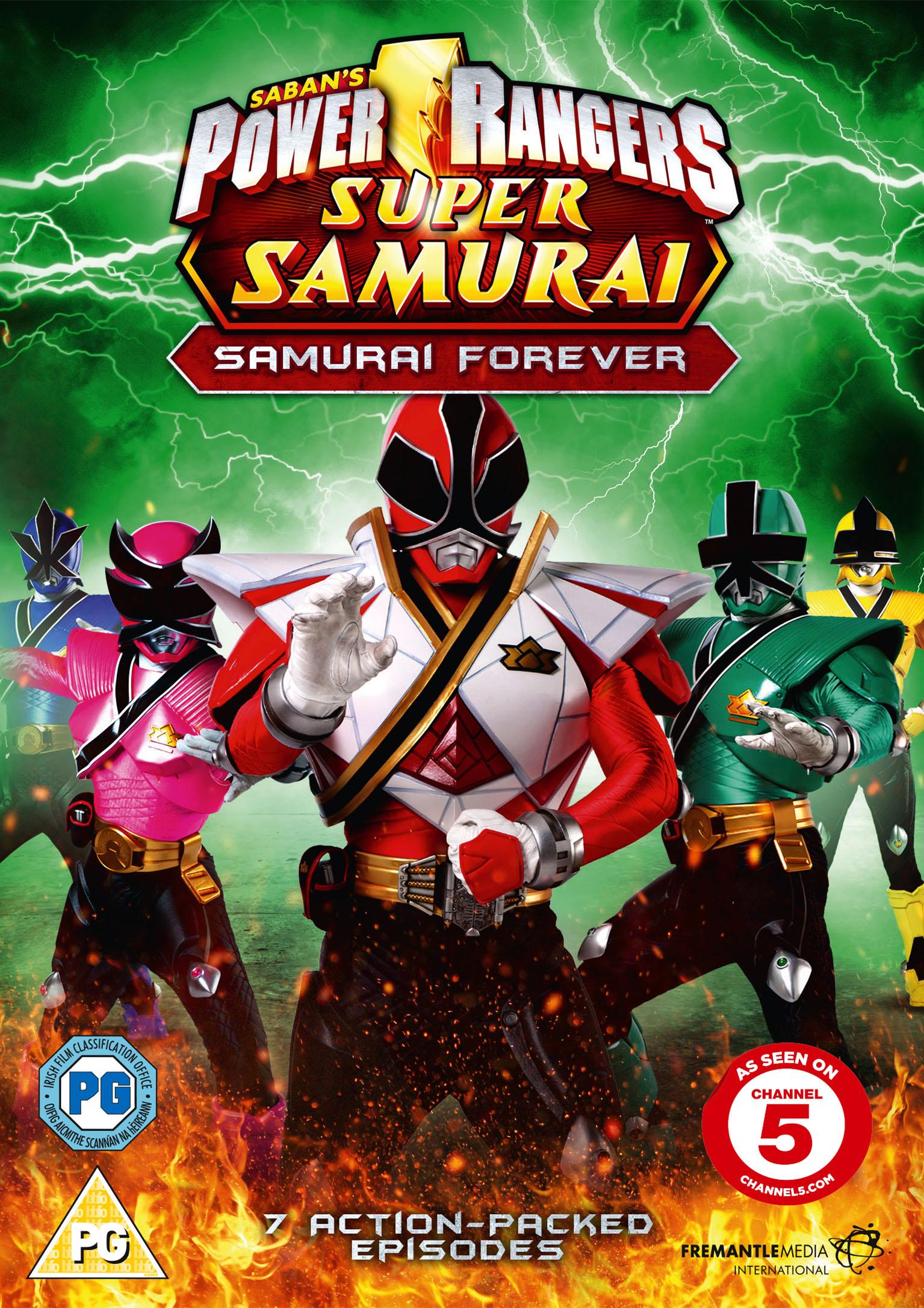 Power rangers super samurai volume 3 samurai forever - Jeux de power rangers super samurai ...