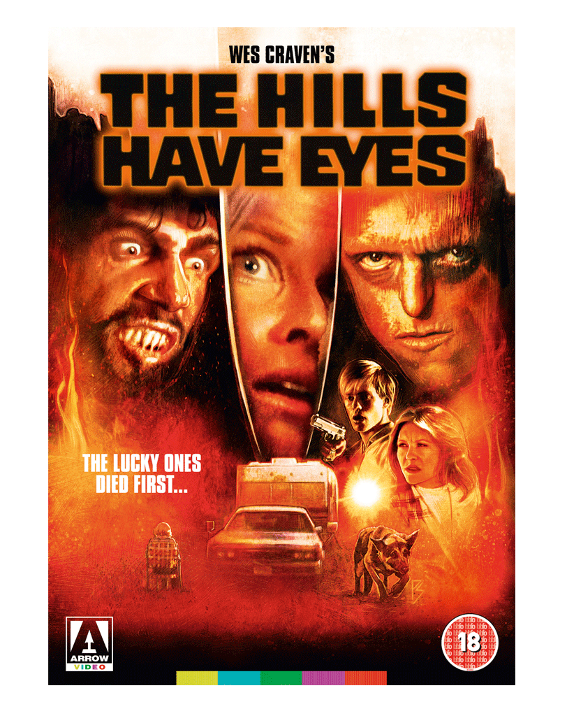 Image result for arrow video the hills have eyes press book